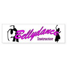 Instructor Pink Bumper Bumper Sticker