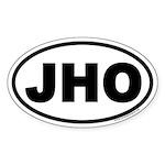 JHO Euro Oval Sticker