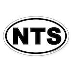 NTS Euro Oval Sticker