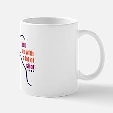 I shot put Mug