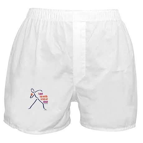 I shot put Boxer Shorts