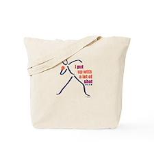 I shot put Tote Bag