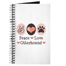 Peace Love Otterhound Journal
