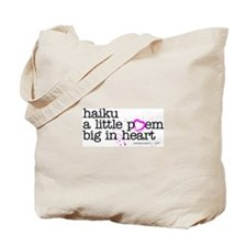 Cute Haiku Tote Bag