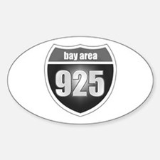Interstate 925 Oval Decal