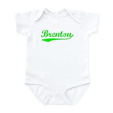 Vintage Brenton (Green) Infant Bodysuit