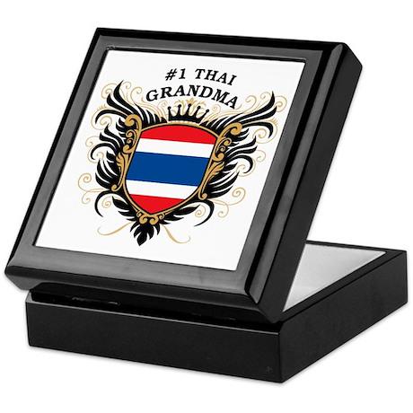 Number One Thai Grandma Keepsake Box