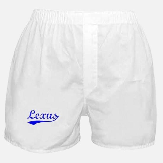 Vintage Lexus (Blue) Boxer Shorts