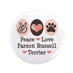 Peace Love Parson Russel Terrier 3.5