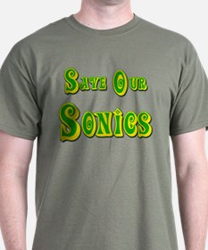 Save Our Seattle Sonics T-Shirt