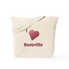 I Love Huntsville #12 Tote Bag
