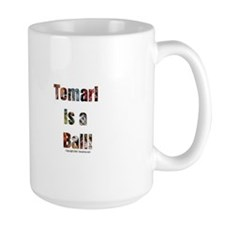 Temari is a Ball! Large 15 oz Mug