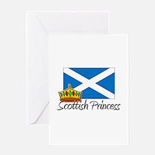 Scottish Princess Greeting Card