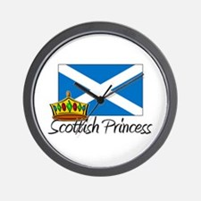 Scottish Princess Wall Clock