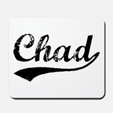 Vintage Chad (Black) Mousepad