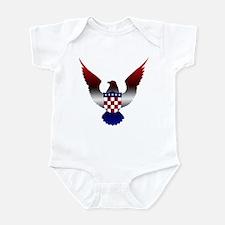 Croatian American Infant Bodysuit