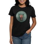 Tongue Massage Women's Dark T-Shirt