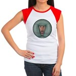 Tongue Massage Women's Cap Sleeve T-Shirt