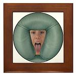 Tongue Massage Framed Tile