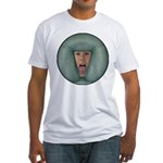 Tongue Massage Fitted T-Shirt