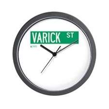 Varick Street in NY Wall Clock