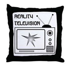 REALITY TV Throw Pillow
