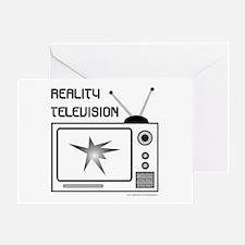 REALITY TV Greeting Card