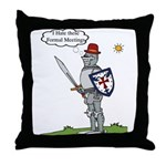 KT Formal Meeting Regalia Throw Pillow