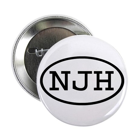 "NJH Oval 2.25"" Button (10 pack)"