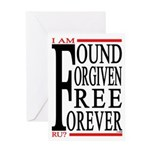 FOUND, FORGIVEN... Greeting Card