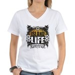 Island Life Women's V-Neck T-Shirt