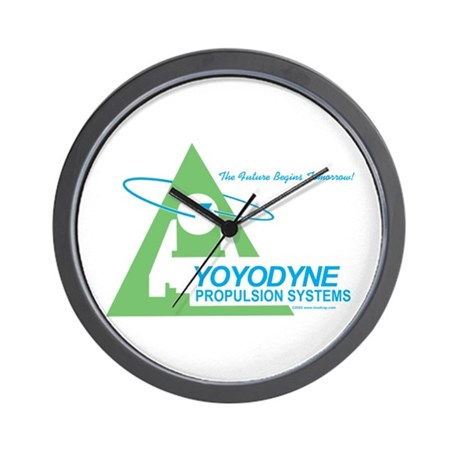 Yoyodyne Wall Clock