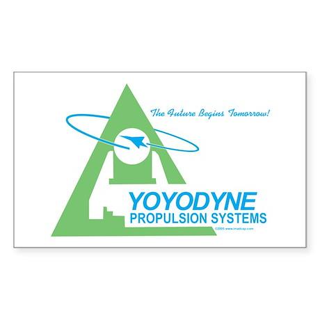 Yoyodyne Rectangle Sticker