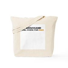 Farm Hand Tote Bag