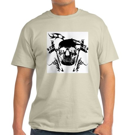 Inked Skull Light T-Shirt