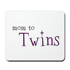 Mom To Twins Mousepad