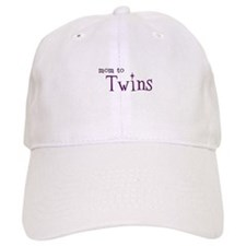 Mom To Twins Baseball Cap