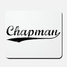Vintage Chapman (Black) Mousepad