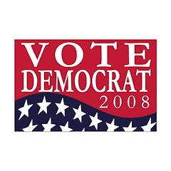 Vote Democrat 2008 11x17 poster