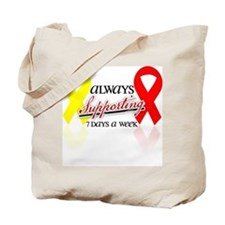 Always Supporting 7 Days Tote Bag