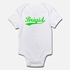 Vintage Brigid (Green) Infant Bodysuit