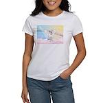 Dog Angel / Pit Bull Women's T-Shirt