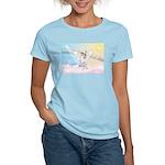 Dog Angel / Pit Bull Women's Light T-Shirt
