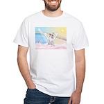 Dog Angel / Pit Bull White T-Shirt