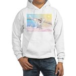 Dog Angel / Pit Bull Hooded Sweatshirt