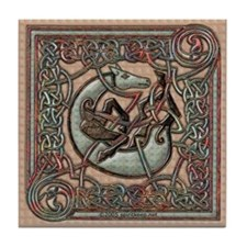 Celtic Horse #1 Tile Coaster