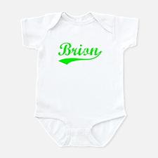 Vintage Brion (Green) Infant Bodysuit