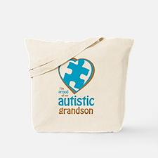 Proud of Grandson (3BB) Tote Bag