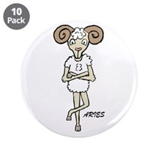 "Aries 3.5"" Button (10 pack)"
