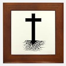 Rooted In Christ Framed Tile
